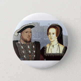 Henry VIII and Ann Boleyn 2 Inch Round Button