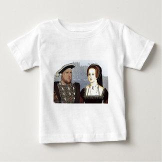 Henry VIII and Ann Boleyn Baby T-Shirt