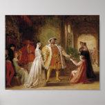 Henry VIII and Anne Boleyn Poster