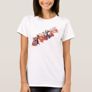 Henry VIII and his Six Wives Cartoon T-Shirt