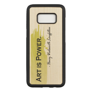 Henry Wadsworth Longfellow Carved Samsung Galaxy S8 Case