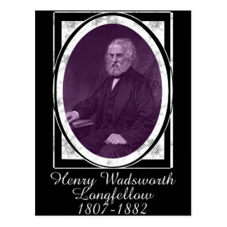 Henry Wadsworth Longfellow Postcard