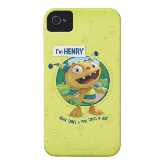 Henry - Where there's a roar there's a way! iPhone 4 Covers