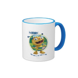Henry - Where there's a roar there's a way! Ringer Coffee Mug