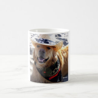 Henry's World Today Golden Retriever Mug
