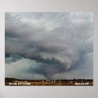 Henryville, IN Tornado Poster