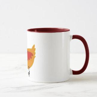 Hens-and-Chicks mug