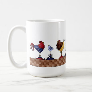 Hens in a Row - Mug