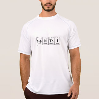 HeNTaI Chemistry Periodic Table Words Elements T-Shirt