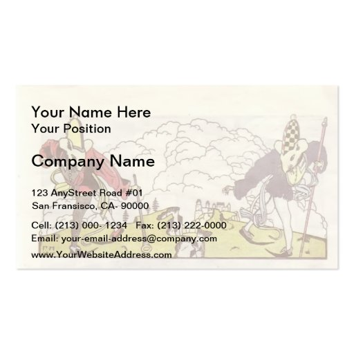 Heorhiy Narbut-How mice buried the cat Business Cards