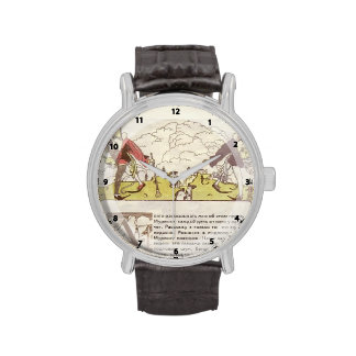 Heorhiy Narbut-How mice buried the cat Wristwatch