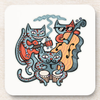 Hep Cat Band Coaster