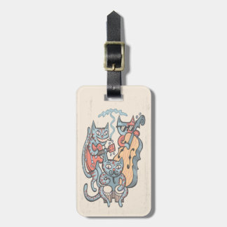 Hep Cat Band Luggage Tag