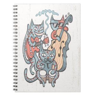 Hep Cat Band Notebook