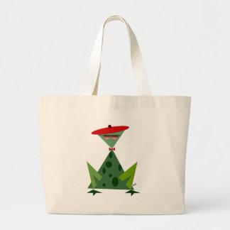Hep Frog Large Tote Bag