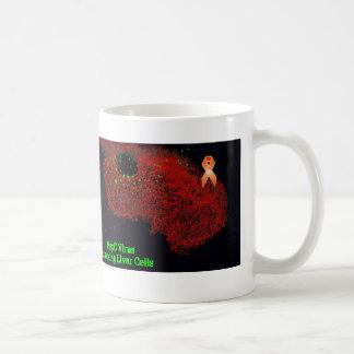 HepC attacking Liver Cells Coffee Mug