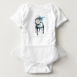 Hepplewhite Chair - Watercolor Baby Bodysuit
