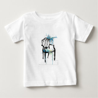 Hepplewhite Chair - Watercolor Baby T-Shirt