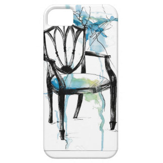 Hepplewhite Chair - Watercolor iPhone 5 Cover