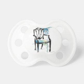 Hepplewhite Chair - Watercolor Pacifier