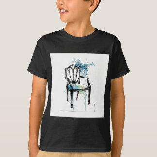 Hepplewhite Chair - Watercolor T-Shirt