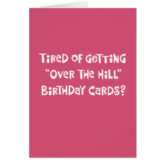 Her 75th Birthday Humor Greeting Card