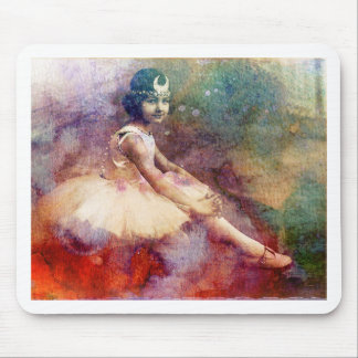 HER BALLET DREAMS MOUSE PAD