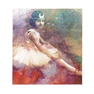 HER BALLET DREAMS NOTEPAD