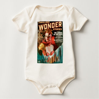 Her Boyfriend's a Monster Baby Bodysuit