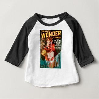 Her Boyfriend's a Monster Baby T-Shirt