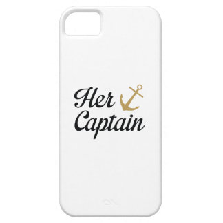 Her Captain iPhone 5 Cover
