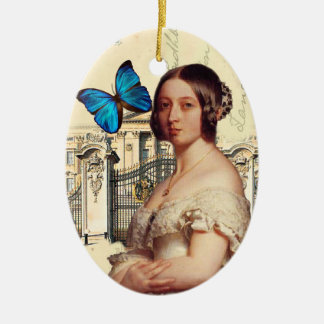 Her Majesty Queen Victoria Ceramic Oval Ornament