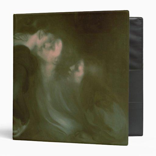Her Mother's Kiss, 1890s Vinyl Binder