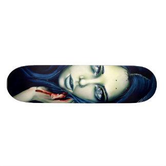Her Offensive Slashes Skate Boards