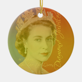 Her Royal Highness Round Ceramic Ornament
