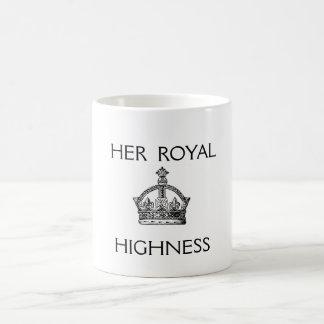Her Royal Highness tea mug