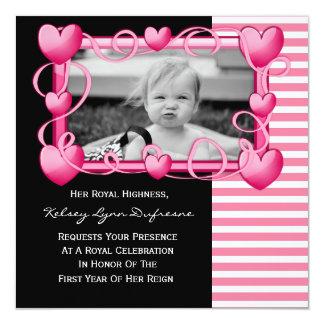 Her Royal Highness w/Photo Birthday Invitation
