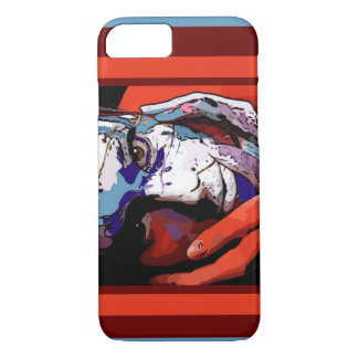 Her smudged in paint Cellphone case