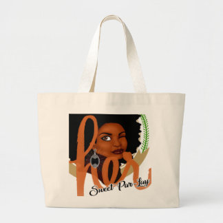 Her Sweet Par-lay Large Tote Bag