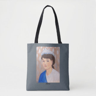 Hera and Zeus tote bag