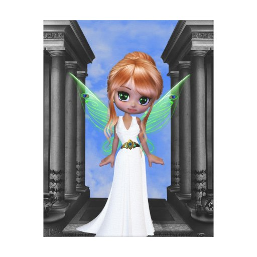 "Hera ""Queen of the Gods"" Fairy Stretched Canvas Prints"