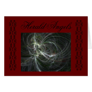 HERALD ANGELS CARD