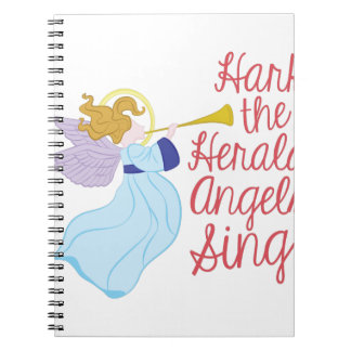 Herald Angels Notebooks