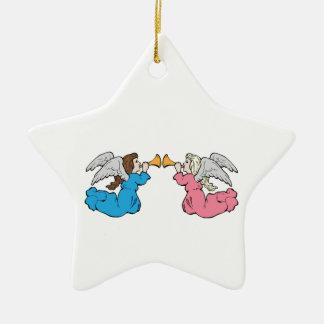 Herald Angels Christmas Tree Ornaments