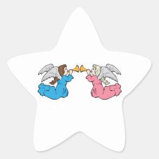 Herald Angels Star Sticker