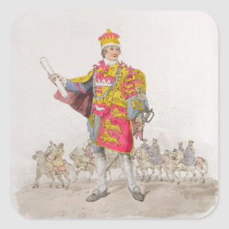Herald, from 'Costume of Great Britain', published Stickers