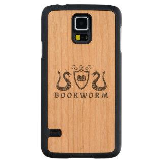 Heraldic Bookworm Samsung Galaxy S5 Slim Case Cherry Galaxy S5 Case