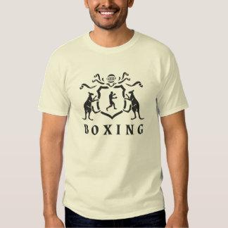 Heraldic Boxing Kangaroo T-Shirt