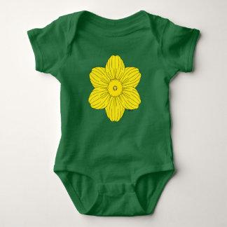 Heraldic Daffodil Baby Bodysuit