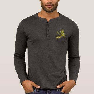 Heraldic Gold Lion - MyBlazon's T-shirts for men